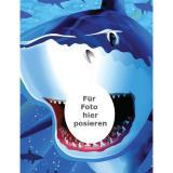 """Fotowand """"Gefährlicher Hai"""" 127 x 100 cm"""