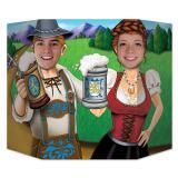 "Fotowand ""Oktoberfest Pärchen"" 94 x 64 cm"