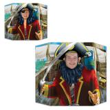 Fotowand Schrecklicher Pirat 94 cm x 64 cm