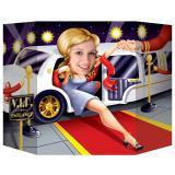 Fotowand VIP auf rotem Teppich 94 x 64 cm