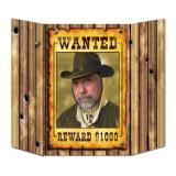 Fotowand Wanted 94 x 64 cm