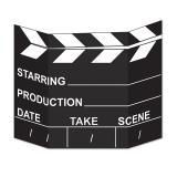 "Fotowand ""Filmklappe Hollywood"" 94 x 69 cm"