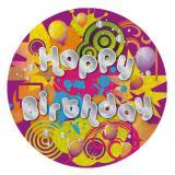 """Geburtstags-Button """"Happy Birthday"""""""