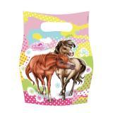 """Geschenk-Tütchen """"Charming Horses"""" 6er Pack"""