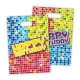 """Geschenk-Tütchen """"Happy Crazy Birthday"""" 6er Pack"""