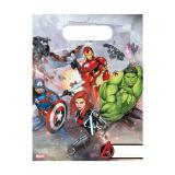 "Geschenk-Tütchen ""Mächtige Avengers"" 6er Pack"