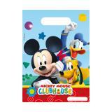 """Geschenk-Tütchen """"Micky Maus Clubhaus"""" 6er Pack"""
