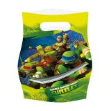 """Geschenk-Tütchen """"Ninja Turtles"""" 6er Pack"""