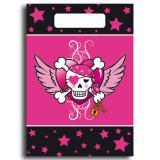"Geschenk-Tütchen ""Pirate Girl"" 8er Pack"