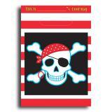 """Geschenk-Tütchen """"Piraten-Party"""" 8er Pack"""