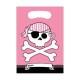 """Geschenk-Tütchen Mädchen """"Piraten-Nacht"""" 8er Pack"""