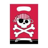 """Geschenk-Tütchen """"Piraten-Nacht"""" 8er Pack"""