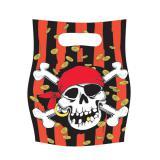 """Geschenk-Tütchen """"Piraten-Schatzsuche"""" 6er Pack"""