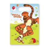 """Geschenk-Tütchen """"Winnie Puuh"""" Tigger 6er Pack"""