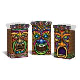 """Geschenkbox """"Tiki-Maske"""" 3er Pack"""