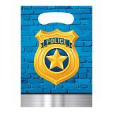 """Geschenktütchen """"Coole Polizei"""" 8er Pack"""