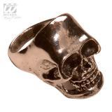 Gruseliger Totenkopf-Ring