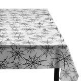 """Halbtransparente Tischdecke """"Spinnennetz"""" 135 x 275 cm"""
