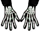 Handschuhe Skelett-Hand