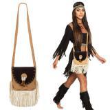 """Handtasche """"Indianerin"""" mit Fransen"""
