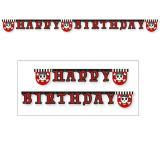 """Happy Birthday-Girlande """"Abenteuerliche Piratenparty"""" 2 m"""