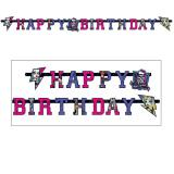 "Happy Birthday-Girlande ""Monster High-Girls"" 1,80 m"