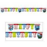 "Happy Birthday-Girlande ""Planes"" 2 m"