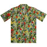 Original Hawaiihemd Colorful Parrots