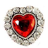 Herzförmiger Ring mit Diamanten