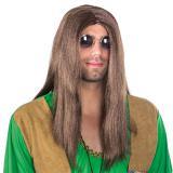 Hippie Perücke Peaceman