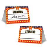 """Hollywood-Tischkarten """"Awards Night"""" 8er Pack"""