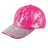 """Kappe """"Bling-Bling"""" -pink"""