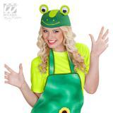 """Kappe """"Grüner Frosch"""""""