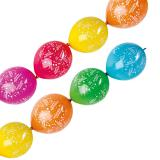 "Ketten-Luftballons ""Happy Birthday"" 6er Pack"