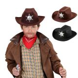 "Kinder Cowboy-Hut ""Sheriff"""