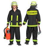 Kinder-Kostüm Feuerwehr 2-tlg.