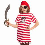 "Kinder-Kostüm ""Wilde Piratin"" 3-tlg."