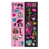 "Kleine Aufkleber ""Monster High Girls"" 8er Pack"