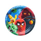 "Kleine Pappteller ""Angry Birds - Der Film"" 8er Pack"