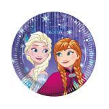 """Kleine Pappteller """"Frozen - Schneegestöber"""" 8er Pack"""