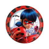 Kleine Pappteller Miraculous - Ladybugs Abenteuer 8er Pack