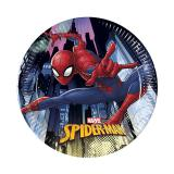 "Kleine Pappteller ""Spiderman"" 8er Pack"
