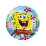 """Kleine Pappteller """"SpongeBob Schwammkopf"""" 8er Pack"""