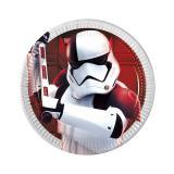 """Kleine Pappteller """"Star Wars - Die letzten Jedi"""" 8er Pack"""