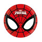 "Kleine Pappteller ""Ultimate Spiderman"" 8er Pack"