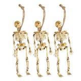 Kleine Skelette zum Aufhängen 3er Pack
