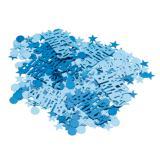 Konfetti blaue Blasen Happy Birthday 15 g