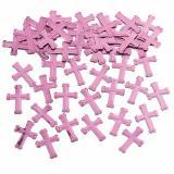 """Konfetti """"Farbenfrohes Kreuz"""" 14 g-rosa"""