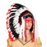 Indianer-Kopfschmuck Apache 60 cm