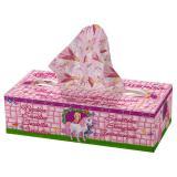 """Kosmetiktücher in Box """"Prinzessin im Schloss"""" 85er Pack"""